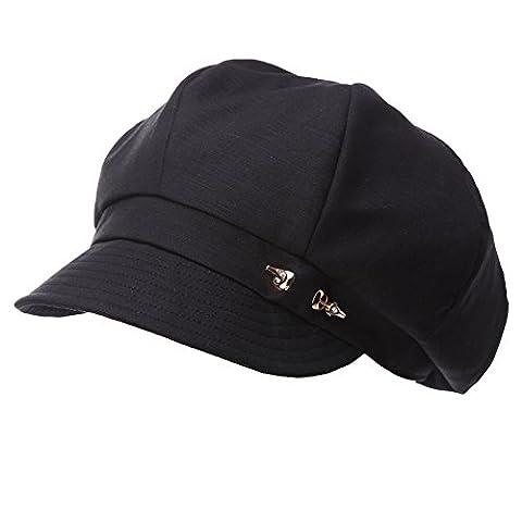 Beret Femme Noir - Siggi - Béret - Femme - noir