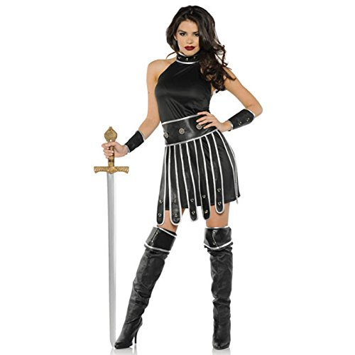 Underwraps Warrior Queen Womens Medieval Spartan Halloween Costume-XL X Large