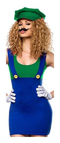 Luigi Kostüm von Luxury & Good Dessous (Frau Kostüme Luigi)