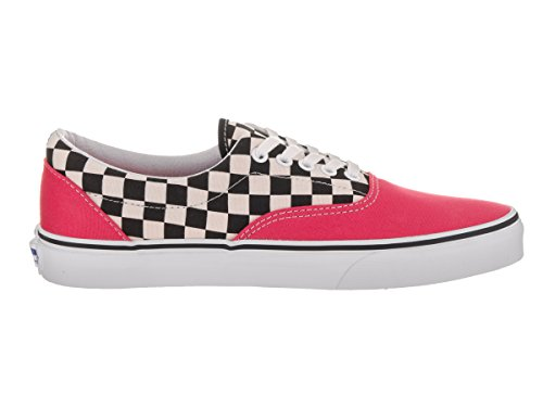 Vans Ua Era, Scarpe da Ginnastica Basse Uomo (2 Tone Check) Rouge Red/true White