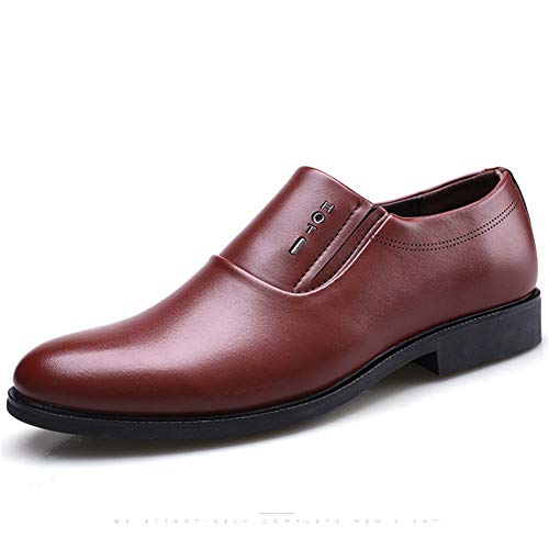 Feidaeu Herren Business Schuhe Dress Loafers Leder Büro Classic Formal Slip On Oxford Hochzeitsschuhe - Loafer Gurt Herren
