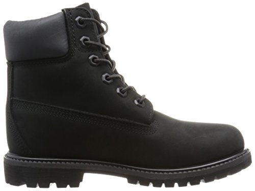 Timberland 6 6in Premium Boot-W, Stivaletti Donna Nero (Black Waterbuck)