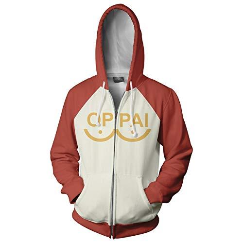 Henxizucun Erwachsene Zip Hoodie Sweatshirts Jacke lose Karate Kid Cobra Kai Hoodie Retro Film Classic Vintage Hooded Top,Brown,XXXL