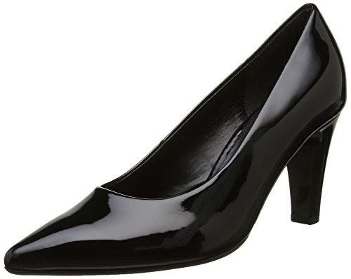 Gabor Fashion, Escarpins Femme Noir (Absatz 77)