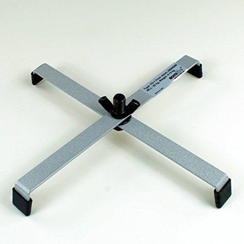 4 Stück Floorstand FS1 Silber Bodenstativ 215 x 215 mm
