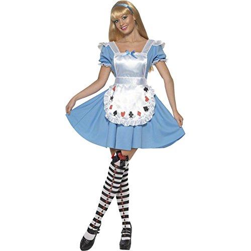 spiel Kostüm, Kleid, Größe: M, 39474 (Adult Alice Schuhe)
