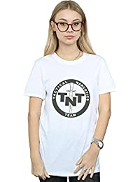Absolute Cult Alex Chenery Mujer Tactical Narcotics Team Camiseta del Novio Fit