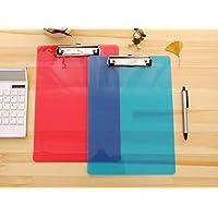 Portapapapeles de plástico A4, carpetas de notas, color Watermelon Red A4