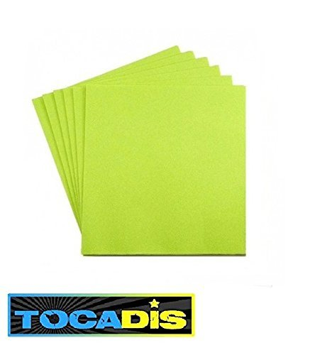 280-serviettes-jetables-38x38cm-epaisseur-4-plies-12-couleurs-differentes-tocadis-vert