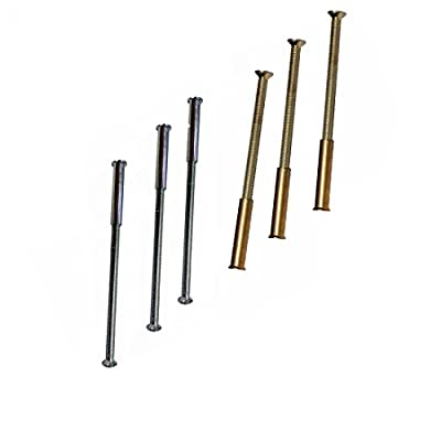 20 x M3 Screws Connecting Bolts and Sleeve for Fixing Door Handles, Knobs and Others - cheap UK light store.