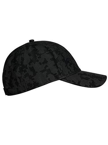 Stöhr Erwachsene Camou Cap Kappe, schwarz-Grau, One Size