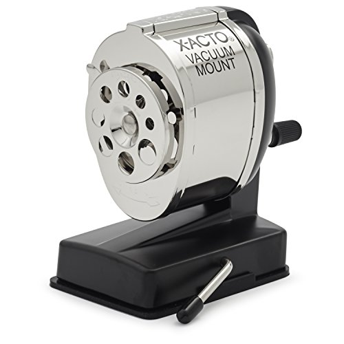x-acto-manual-sharpener-vacuum-base-black-chrome-sold-as-1-each