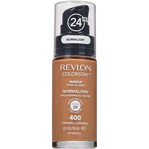 Revlon Colorstay Makeup Normal Fond de Teint pour Peau Sèche 400 Caramel 30 ml