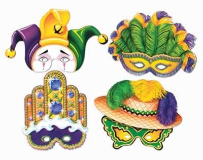 idealWigsNet Mardi Gras Mask - 12
