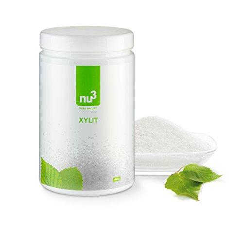 nu3 Premium Xylit (Xylitol) 750g – Birkenzucker aus Finnland – mit 40% weniger Kalorien als herkömmlicher Zucker – Perfekt zum Backen & Kochen – gesunde und vegane Zuckeralternative