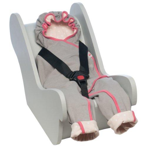 Lodger BLMC031 Wrapper Motion Cotton Einwickeldecke und Spieldecke, nude rosa