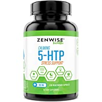 Preisvergleich für 5-HTP - With 100mg of 5HTP + Vitamin B6 - Stress Relief & Mood Control Supplement - All-Natural Appetite Suppressant...