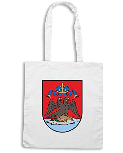 T-Shirtshock - Borsa Shopping TM0089 fiume coatcroatia citta Bianco