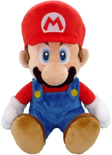 Nintendo Plüschfigur Super Mario (21cm) thumbnail