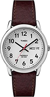 Timex Men's Easy Reader Brown Leather Watch - T20041 (B000B55AEA) | Amazon Products