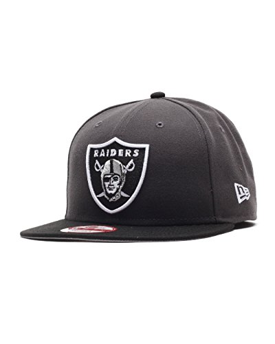 new-era-nfl-oakland-raiders-graphite-snapback-cap-s-m-9fifty-limited-edition
