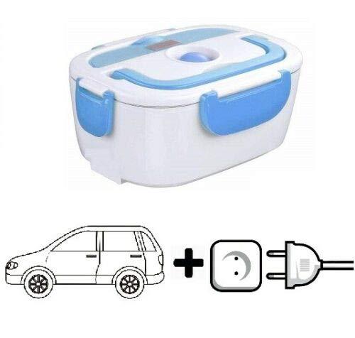 Maxell Power CE TARTERA ELECTRICA para LUZ Y Coche Fiambrera Calentador DE Comida PORTATIL 2EN1 Azul