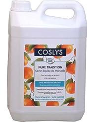 Coslys Hygiène Corporelle Savon de Marseille Corporel Mandarine 5 L