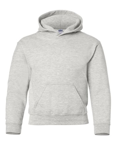 Gildan Heavy Blend Youth Hooded Sweatshirt, Ash, XL 50 Blend Youth Hooded Sweatshirt