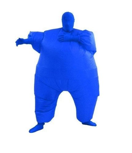 Para mayores de traje de Color Chub hinchable Blow Up de cuerpo...