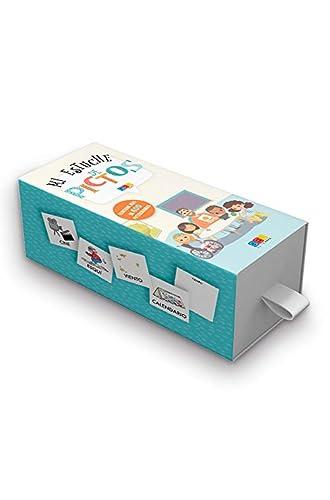 Descargar gratis Mi estuche de pictos / Editorial GEU / 400 tarjetas con pictogramas / Recomendado para facilitar la comunicación del niño/a / Tarjetas plastificadas de Geu