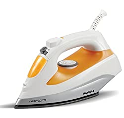 Havells Perfecti Steam Iron Perfecto 1800W Steam Irons (Orange)