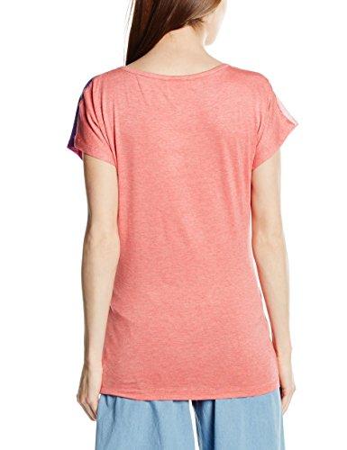 Mamalicious Mlmatisse Ss Mix Top, T-Shirt de Maternité Femme Multicolore - Mehrfarbig (Tea Rose)