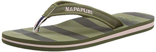 NapapijriLele - Infradito Donna Verde (Grün (khaki green N76))