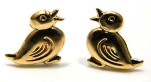 Arranview Jewellery Child's Duck Stud Earring – 9ct Gold