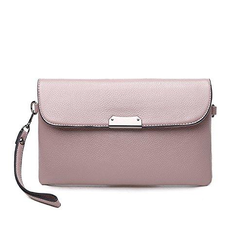 Mefly Crossbody Long Wallet Nuova Moda Invernale Sacchetto Rosa Pink