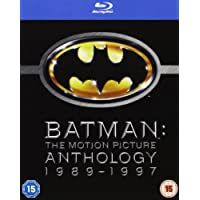 Batman The Motion Picture Anthology 1989-1997 [Blu-ray]