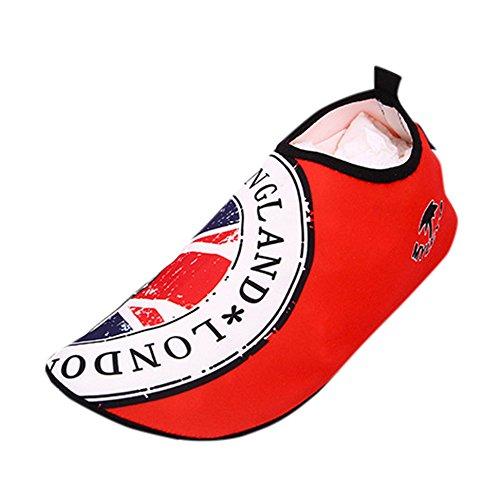 Felicove Badeschuhe Wasserschuhe Strandschuhe Wasserdicht Schnell Trocknend Slip on Breathable Aquaschuhe Schwimmschuhe Surfschuhe für Damen Herren EU 38-47