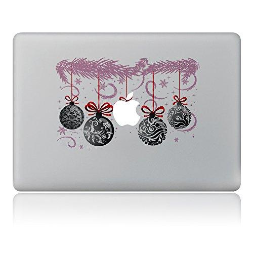 er, Morbuy Abnehmbare Weihnachten Kunst Kreative Anti-Kratzer Beschichtung Haut Vinyl Schutzaufkleber MacBook Pro/Air 13