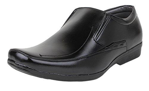 Digni casual usure formelle glissement des hommes sur les chaussures mocassin pantoufle de conduite - choisir la taille Noir