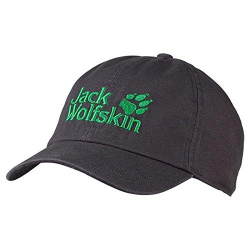 Jack Wolfskin Kinder Kappe Kids Baseball Cap, Dark Steel, 49-55 cm, 1901011-6033495