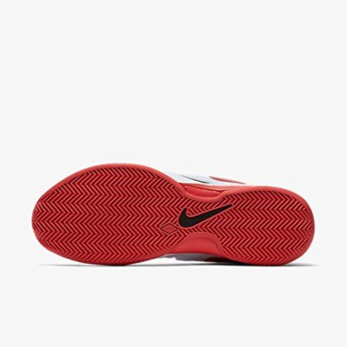 Nike Zoom Vapor 9.5 Tour Clay, Scarpe da Tennis Uomo Blanco (white/university red-black)