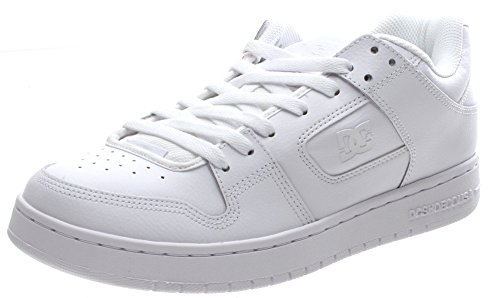 DC Shoes Manteca M Shoe, Baskets Basses homme White/White/White