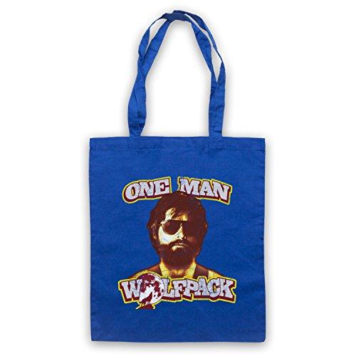 Inspire par Hangover One Man Wolfpack Officieux Sac d'emballage Bleu