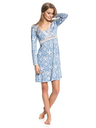 Vive Maria Damen Nachthemd Blue Barock Blau