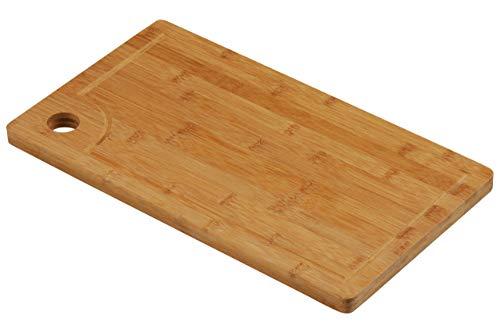 Premier Housewares Bambus-Schneidbrett mit Griff 42 x 24 cm Crumb-board
