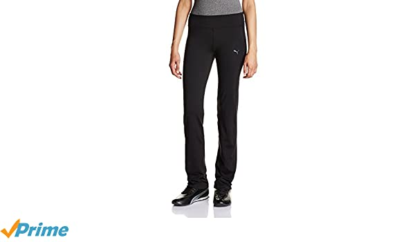 PUMA Jazzpants »WT ESSENTIAL STRAIGHT LEG PANT« Damen