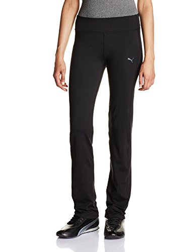 PUMA Damen Hose WT Essential Straight Leg Pants, Black, XXL -