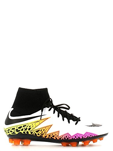 Nike Hypervenom Phatal Ii Df Ag-R, Chaussures de Football Homme Blanc Cassé - Blanco (Blanco (White/Black-Total Orange-Volt))