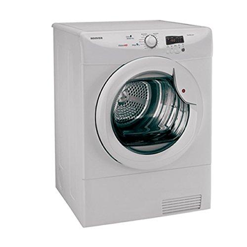 hoover vtc791nb 80 vision hd 9kg freestanding condenser tumble dryer white uk appliances direct. Black Bedroom Furniture Sets. Home Design Ideas