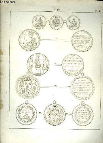 Histoire Numismatique de la Révolution Française. Planche N°2 : 1789
